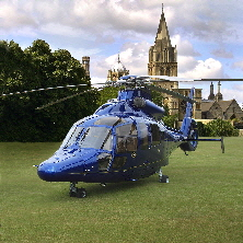 Helicopter at a private site Birmingham