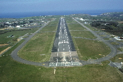 Newquay Airport Runway